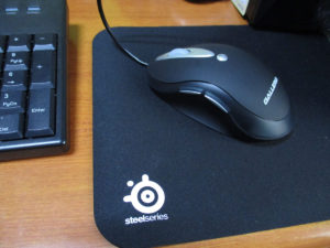 マウスパッド SteelSeries QcK mini